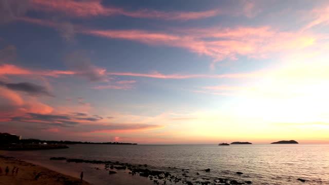 HD Panning: Beautiful south china sea Kota Kinabalu Sabah Malaysia video