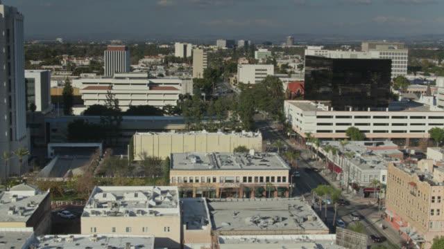 Panning Drone Shot de Santa Ana - Vidéo