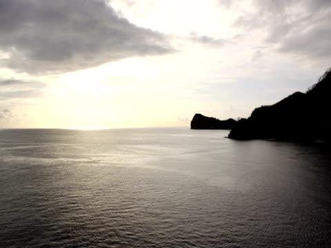 Panning Island Time Lapse video