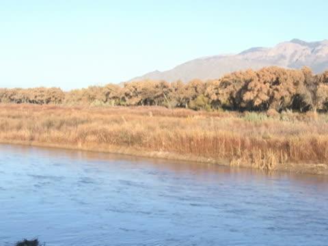 NTSC: Panning Shot-Rio Grande & Sandia