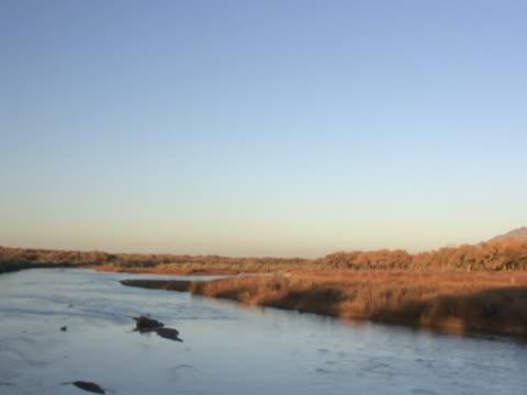 NTSC: Panning Shot-Sandia & Rio Grande