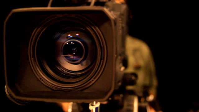 Panning the camera's video Panning the camera's video camera photographic equipment stock videos & royalty-free footage