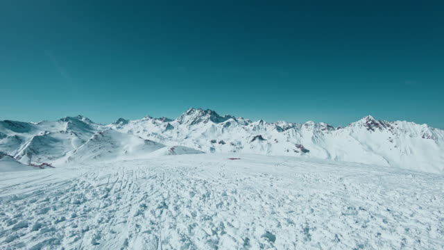 Panorama: Mountains in Ischgl video