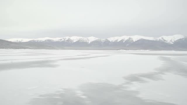 冬の海のパノラマ - シベリア点の映像素材/bロール