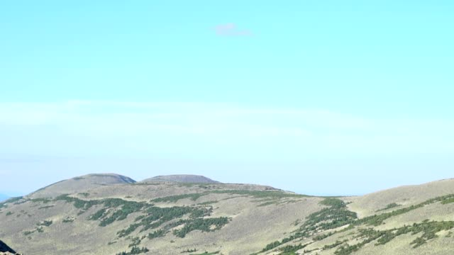 panorama with a view of the mountain tops