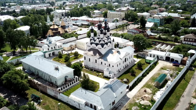 Panoramic aerial view of Trinity