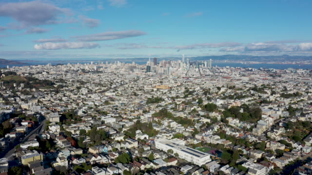 Panoramic Aerial View over San Francisco