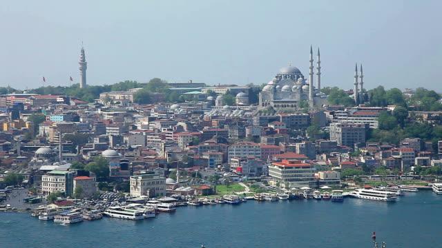 HD: Panoramic Istanbul Scene video