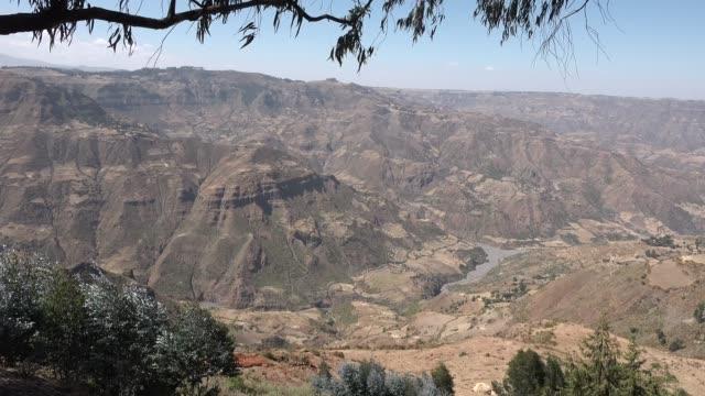 vídeos y material grabado en eventos de stock de paisaje panorámico de montaña del norte de etiopía. - norte