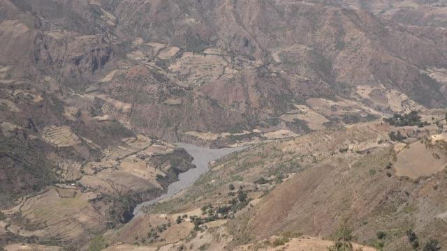 vidéos et rushes de paysage panoramique de montagne du nord de l'ethiopie. - nord