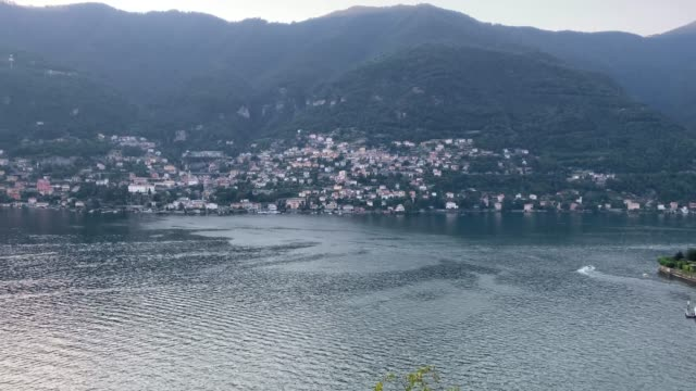 Panoramic timelapse of the village of Torno, Lake Como