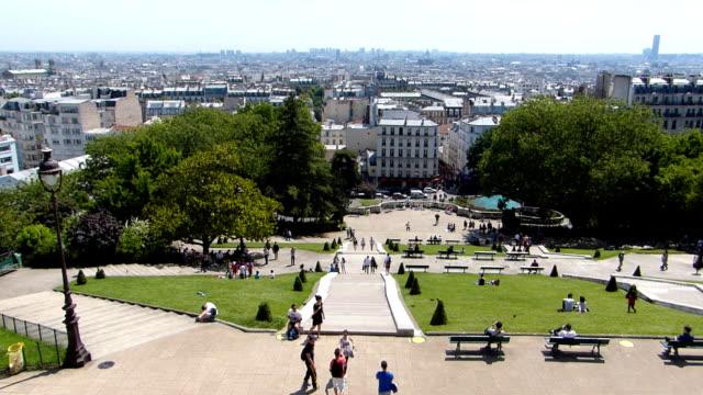 Panoramic view of Paris video