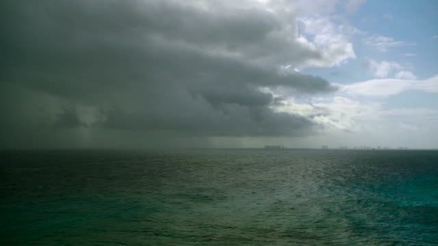 Panoramic View of Upcoming Storm video