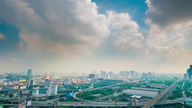 4 K : Panoraminc на Бангкоке видео