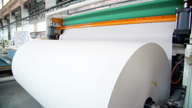 Paper and pulp mill video