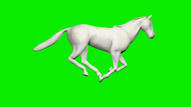 Paper horse running, seamless loop, Green Screen Chromakey Paper horse running, seamless loop, Green Screen Chromakey mustang wild horse stock videos & royalty-free footage