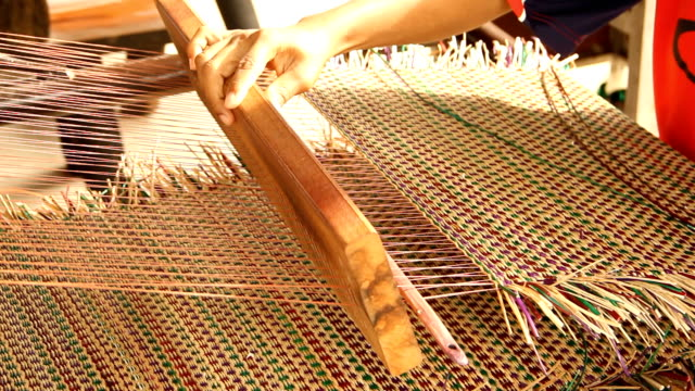 Papyrus mat making