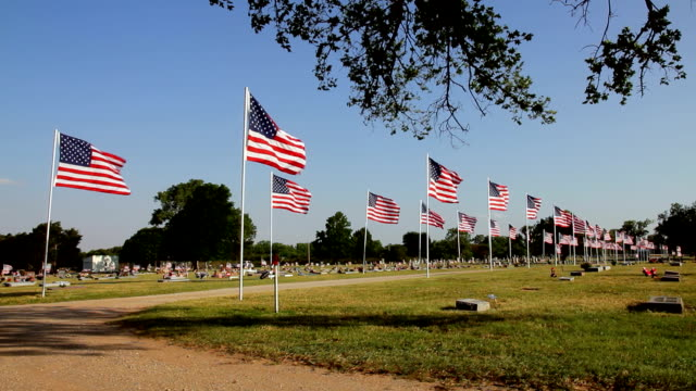 парад флаги - memorial day стоковые видео и кадры b-roll