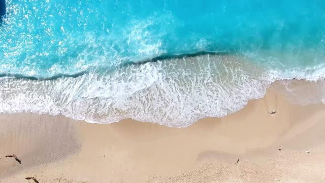 Paradise beach aerial viev