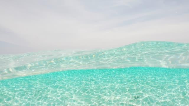 Paradisiac sea at Maldives Paradisiac sea at Maldives indian ocean islands stock videos & royalty-free footage