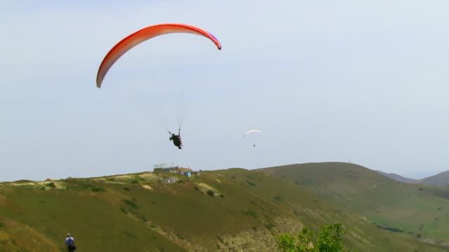 Paraglider in Air video