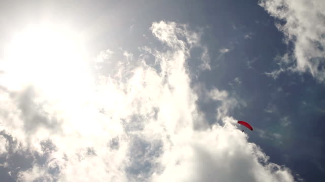 Paraglider in the Sky video