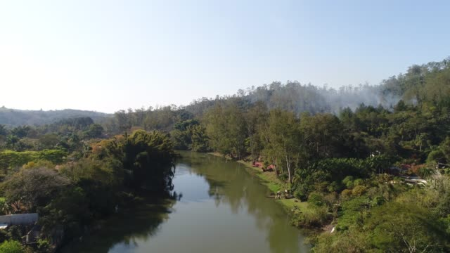 brezilya paraiba nehri - minas gerais eyaleti stok videoları ve detay görüntü çekimi