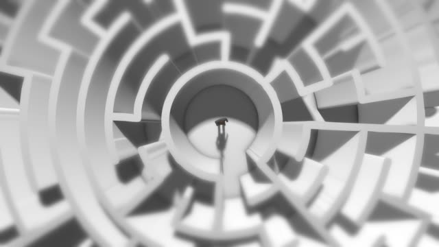 Paranoia schizophrenia psychopath and mental health disorders labyrinth abstract Maze conceptual 3D render for Mental health disorder that describes a wide range of disorders such as depression, anxiety, stress, schizophrenia and bipolar disorder. autism stock videos & royalty-free footage