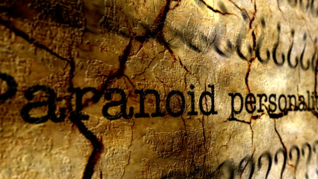 Paranoid disorder grunge concept video