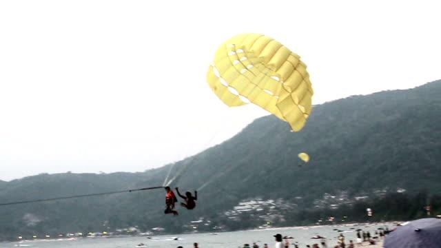Parasailing Landing video