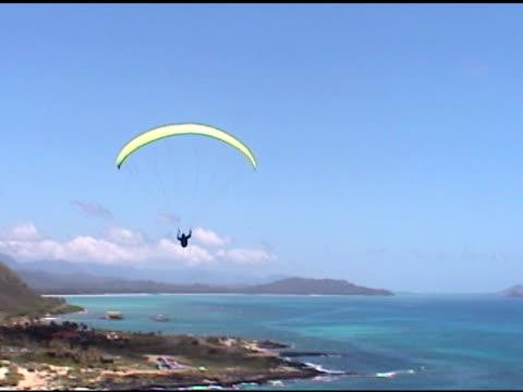 Parasailor flying away video