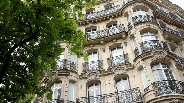 paris apartments. - paris fashion stock videos & royalty-free footage