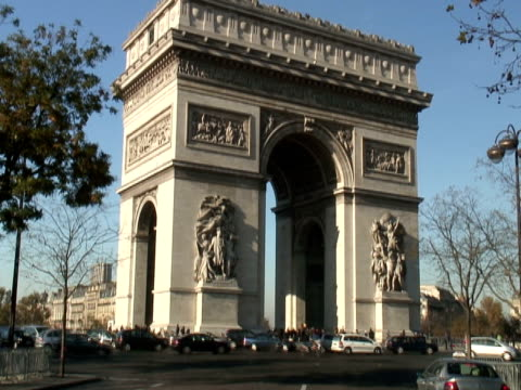 Paris: Arc de Triomphe video
