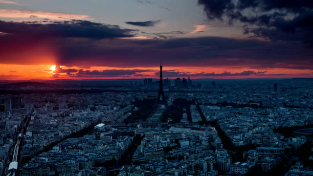 TIME LAPSE: Paris at Sunset video