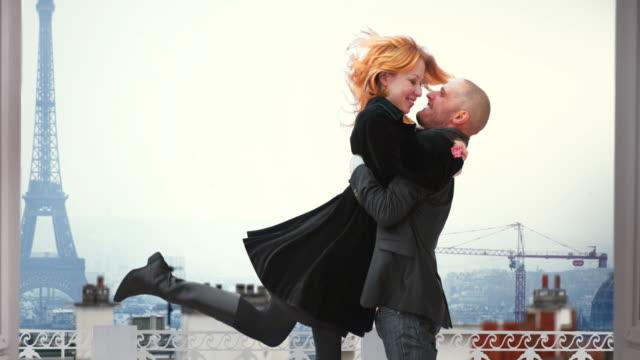 Paris Eiffel Couple Cinemagraph 4K