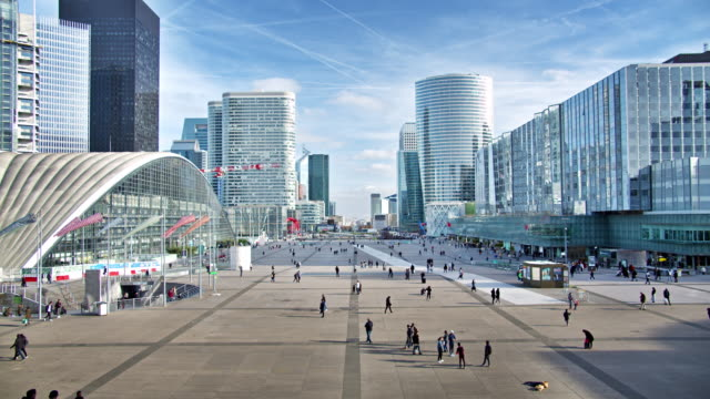 Paris Financial District. Verteidigung – Video