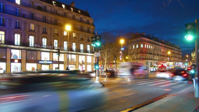 Paris Night street