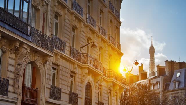 Paris Skyline. So. Eiffelturm. – Video