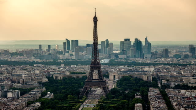 TIME LAPSE : Paris Skyline video