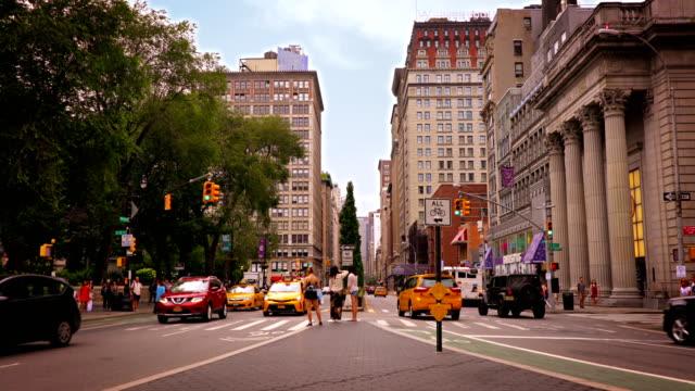 Park avenue and union square park