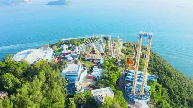 Park Hong Kong. Very Famous for it's beautiful view of the ocean