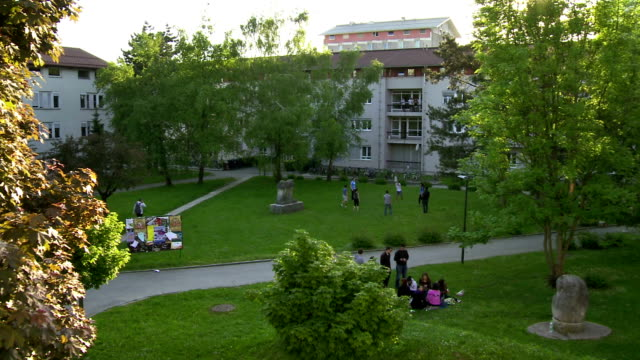 AERIAL Park Of The Campus video