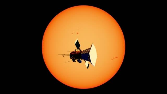 parker solar probe - badawczy statek kosmiczny filmów i materiałów b-roll