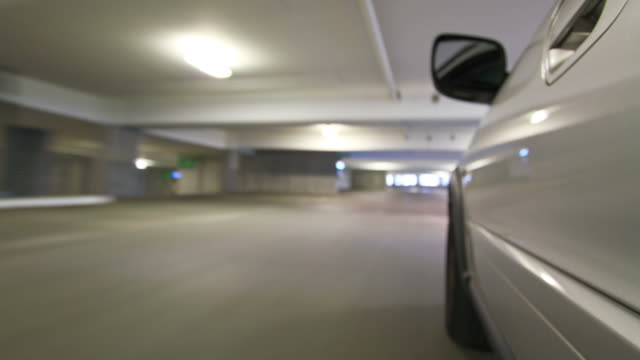 Parking Garage Driving Time Lapse video