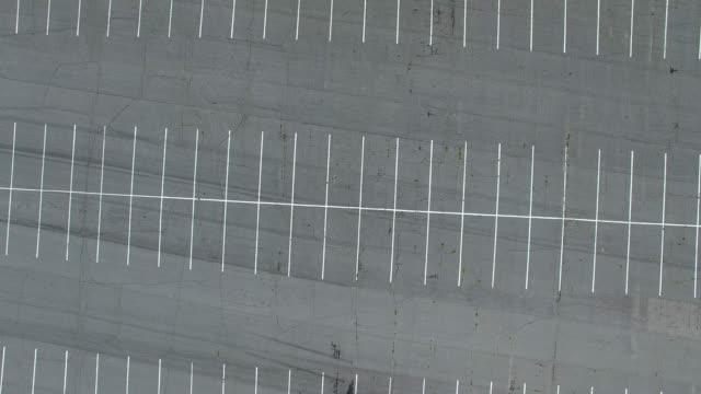 stockvideo's en b-roll-footage met parkeerplaats van bovenaf - parking