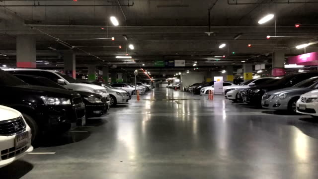 Parking Lot in Building video