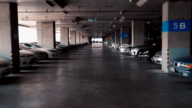 Parking Lot on the building