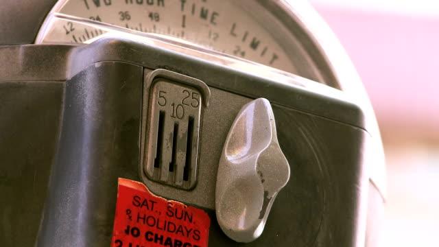 Parking Meter Closeup