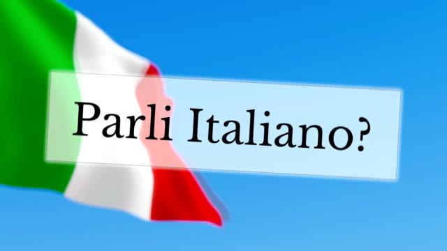 Parli Italiano / você fala italiano - vídeo