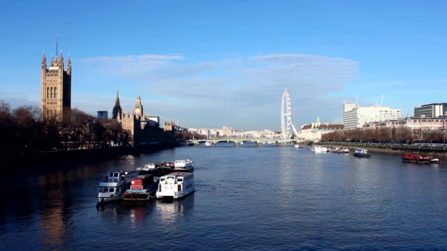 Parliament and Westminster Bridge 1 video